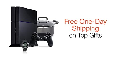 Free One-Day Shipping on Top Gifts