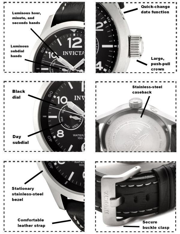 Invicta 0764 Men's Watch