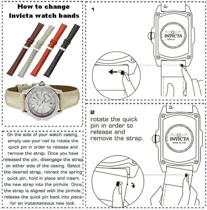 Invicta Wildflower Interchangeable Strap Ladies Watch Set 0688