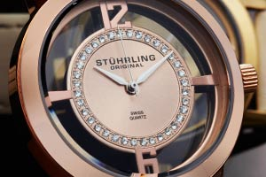 Stuhrling Women's Winchester Tiara Strap Set Watch