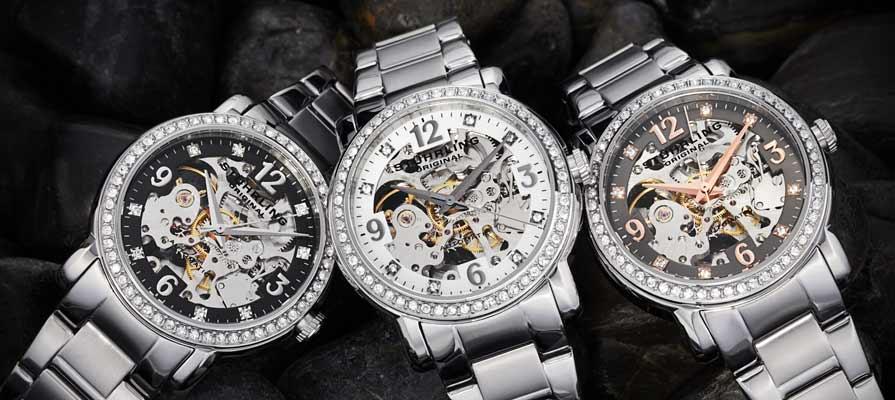Stuhrling Women's Delphi Automatic Watches