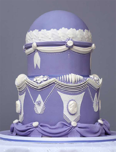 Victorian-Styled Cake