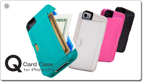 Q Card Case for iPhone 4 / iPhone 4S