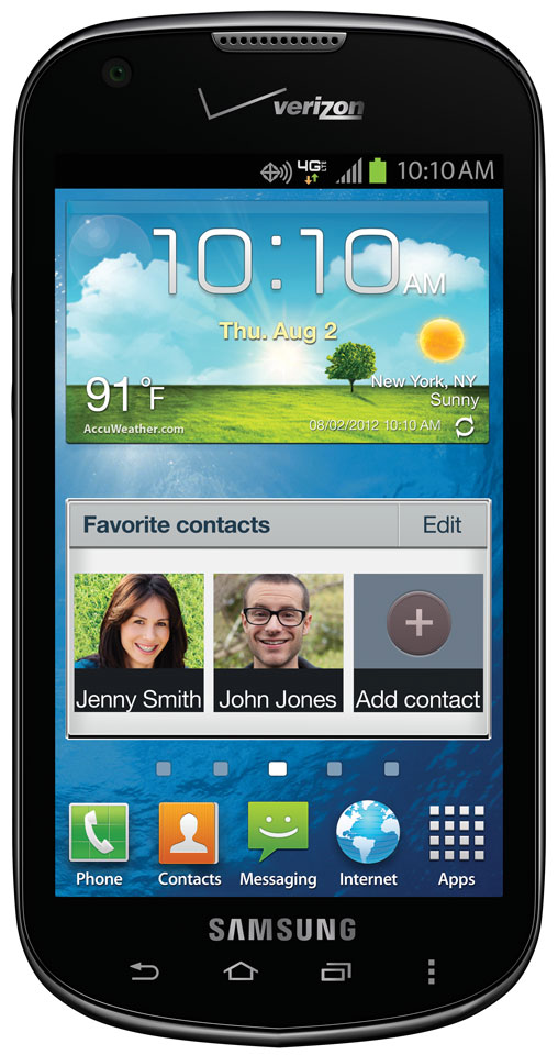 Amazon.com: Samsung Galaxy Stellar, Black 8GB (Verizon