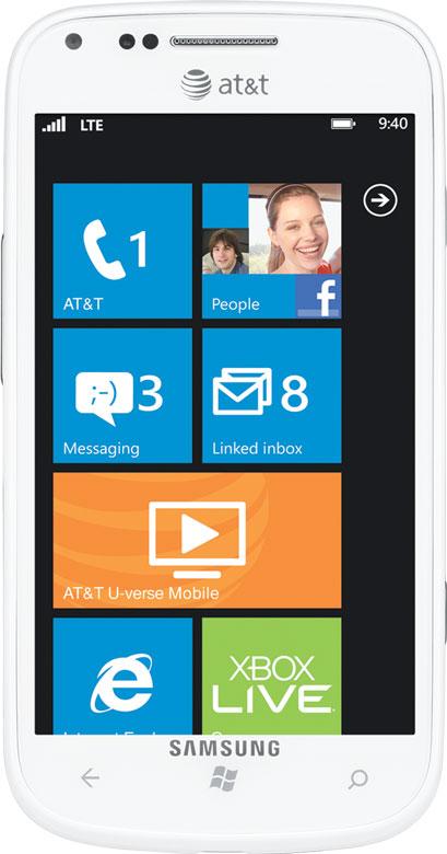 New Samsung Focus 2 i667 Unlocked GSM Phone Windows 7 5 OS 5MP Camera