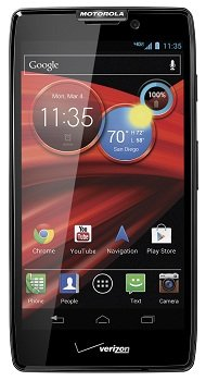 Vanquish MAXX Front Hero VZW sm Motorola DROID RAZR MAXX HD 4G Android Phone (Verizon Wireless)