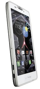 Vanquish White Dyn L Vert Hero VZW sm Motorola DROID RAZR HD 4G Android Phone, White (Verizon Wireless)
