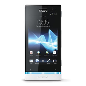 Wallpaper Xperia on Amazon Com  Sony Xperia U St25a Bw Unlocked Phone With Android 2 3 Os
