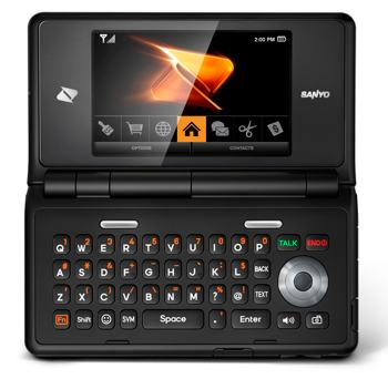 boost sanyo innuendo keyboard sm Sanyo Innuendo Prepaid Phone (Boost Mobile)