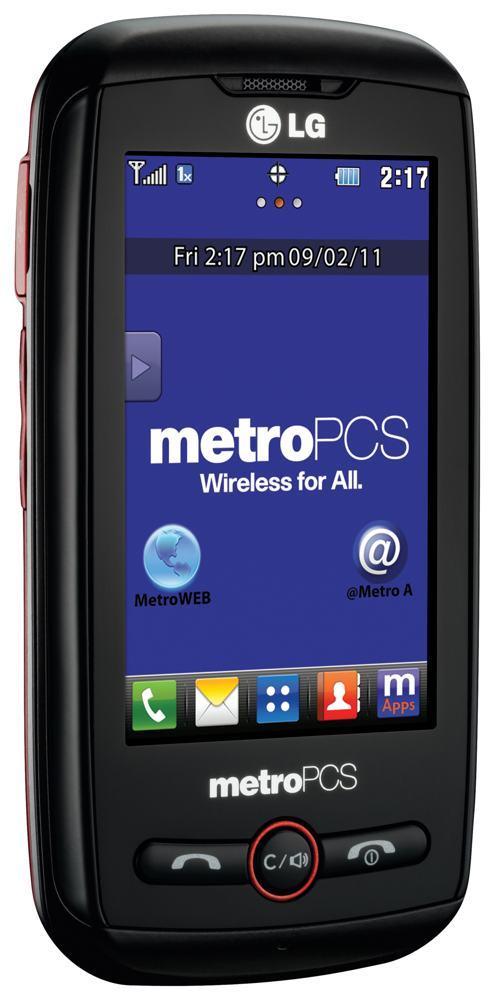 Lg Beacon Prepaid Phone Metropcs Best No Contract