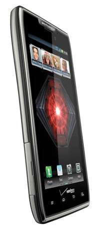 motorola droid razrmaxx veriz 2 redeye angle sm Motorola DROID RAZR MAXX 4G Android Phone, Black 32GB  (Verizon Wireless)