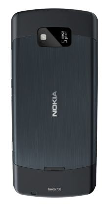 Nokia 700 in gray/black
