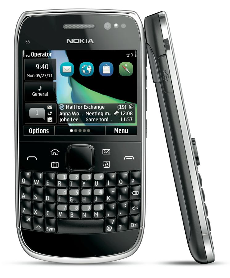 Amazon.com: Nokia E6 Unlocked GSM Phone with Touchscreen, QWERTY ...