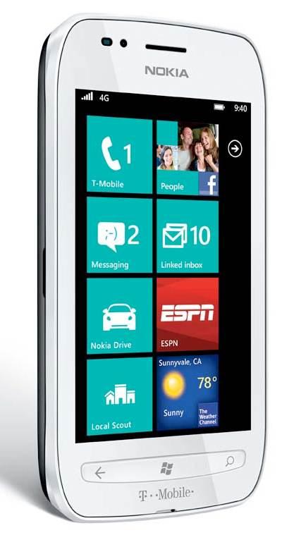 Nokia lumia 710 4g prepaid windows phone white best no for Window 4g mobile