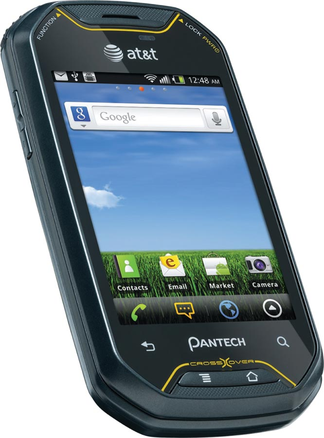 Amazon.com: Pantech Crossover Prepaid Android GoPhone (AT&T) with $25