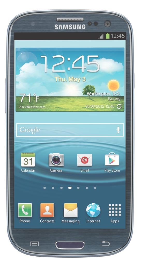 Amazon.com: Samsung Galaxy S3, Blue 16GB (AT&T): Cell Phones