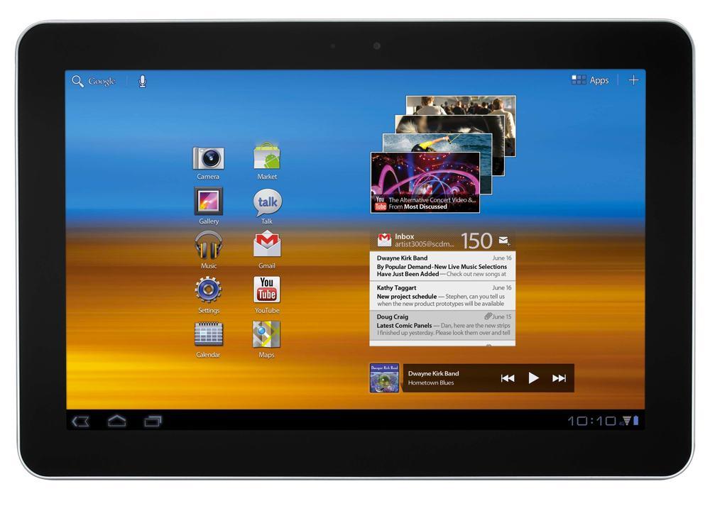 """Samsung Galaxy Tab 4G 10.1"""" 16GB Android Tablet , Grey (Verizon"""