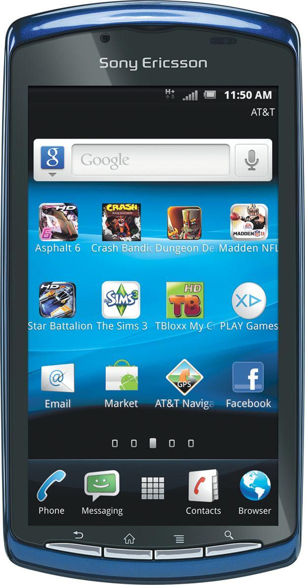 Sony Ericsson W8 E16i - Specifications