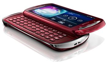 Link to Sony Ericsson Xperia pro MK16a Unlocked Phone–U.S. Warranty (Red) Big Discount