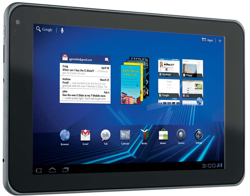 """Featuring an 8.9"""" touchscreen and playback with HDMI. View larger"""