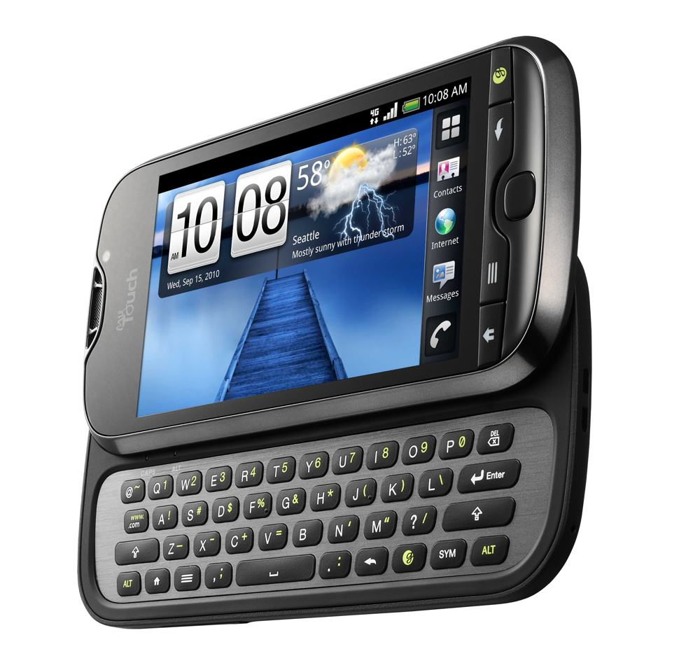 Amazon.com: HTC myTouch 4G Mobile Phone Black - T-Mobile: Cell Phones