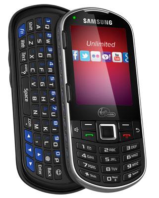 Virgin Mobile Samsung Restore