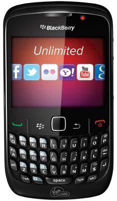 Virgin Mobile BlackBerry Curve 8530