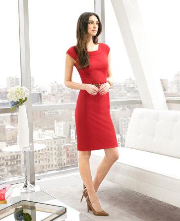 Jones New York Womens Color Block Dress