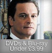 DVD & Blu-ray under £3.99