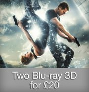 Two Blu-ray 3D for £20