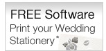 Free Software - Print Your Own Wedding Stationery