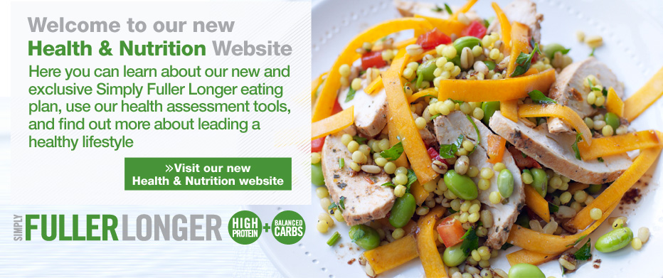 Visit our Heatlh & Nutrition website