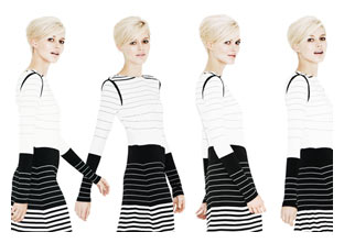 Trend - Monochrome Graphic