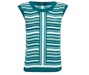 AUTOGRAPH, Pure Silk Striped Top £59