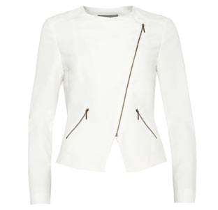 Soft Tailored Biker Jacket £55