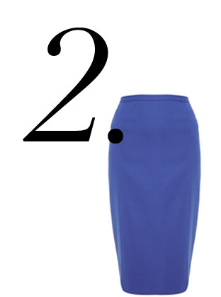 The Bold Pencil Skirt