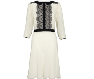 M&S Collection Floral Lace Chiffon Tea Dress £49.50