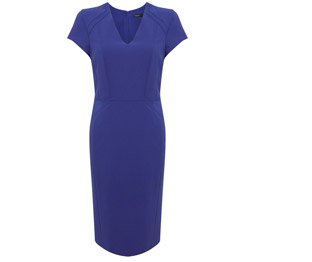 Autograph V-Neck Panelled Shift Dress £59