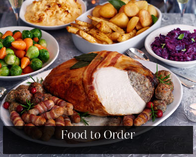 Christmas food to order