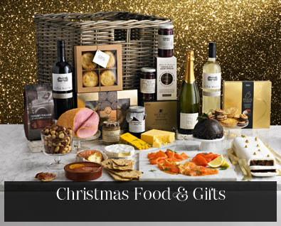 Christmas flowers, hampers & wine