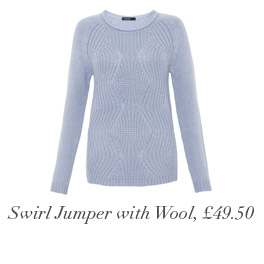 Swirl Jumper with Wool, £49.50