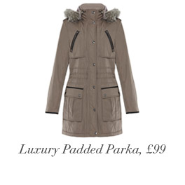 Luxury Padded Parka, £99