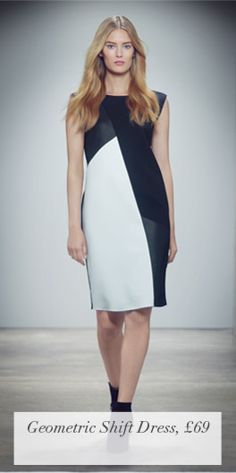 Geometric Shift Dress, £69