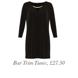 Bar Trim Tunic, £27.50