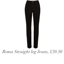 Roma Slim Leg Trousers, £39.50