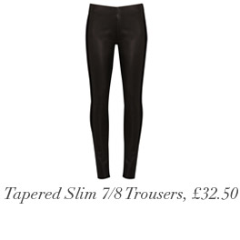 Tapered Slim Leg 7/8 Trousers, £32.50