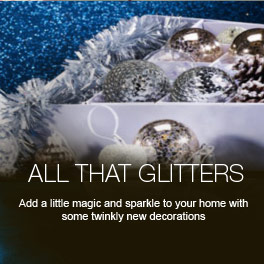All That Glitters - Add a little magic and sparkle to your home with some twinkly new adornments.