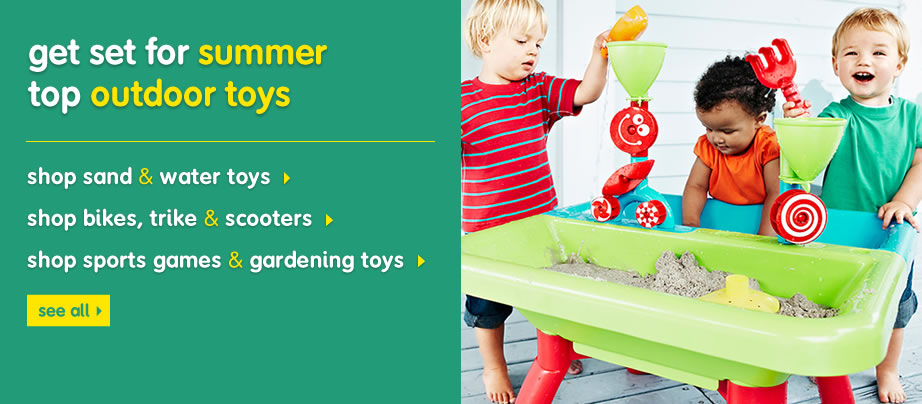get set for summer - top outdoor toys