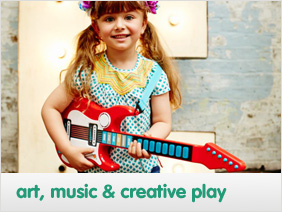 art, creativity and music toys & gifts