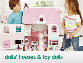 dolls houses & toy dolls